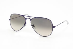 Очки Ray-Ban Aviator Large Metal RB3025-087-32 Metalic Mate Violet/Gradient Grey