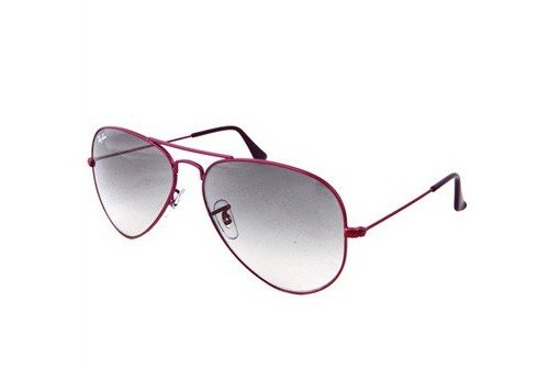 Очки Ray-Ban Aviator Large Metal RB3025-090-32 Metal Fuchsia | Gradient Grey