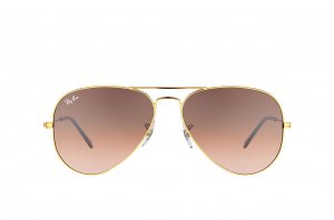 Очки Ray-Ban Aviator Large Metal RB3025-9001-A5 Dark Arista | Faded Brown