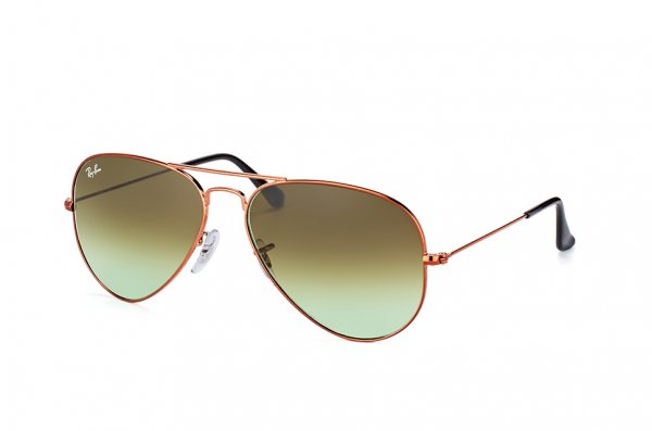 Очки Ray-Ban Aviator Large Metal RB3025-9002-A6 Bronze | Faded Green