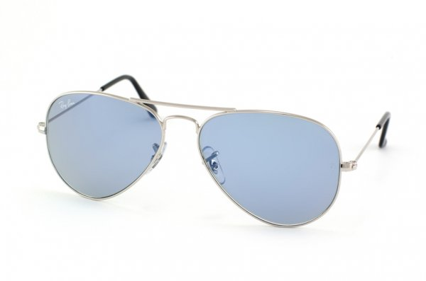 Очки Ray-Ban Aviator Large Metal RB3025-W3171 Silver | Blue