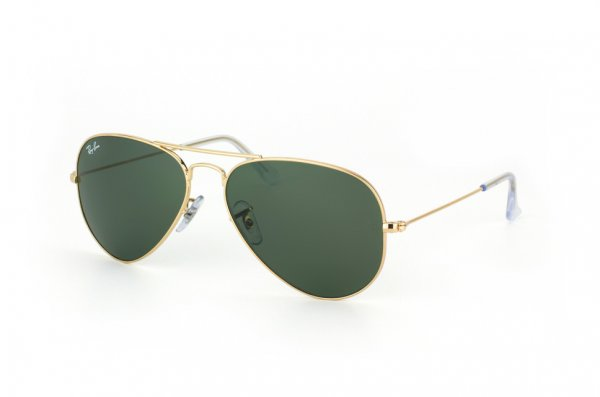 Очки Ray-Ban Aviator Large Metal RB3025-W3234 Arista / Natural Green (G-15XLT)