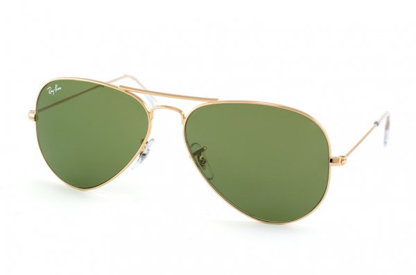 Очки Ray-Ban Aviator Large Metal RB3025-W3280 Arista/Natural Green (G-15XLT)