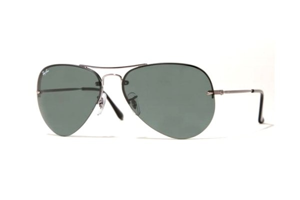 Очки Ray-Ban Aviator Light RB3214-004-71 Gunmetal |Poly. Grey Green