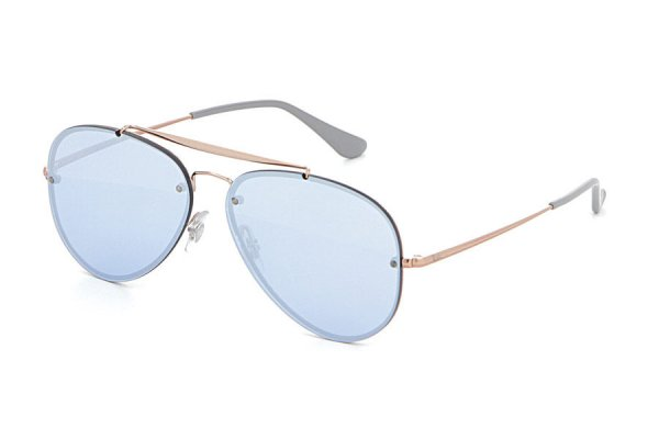 Очки Ray-Ban Blaze Aviator RB3584N-9053-1U Dark Arista | Light Blue