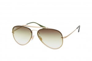 Очки Ray-Ban Blaze Aviator RB3584N-9140-0R Arista | Light Green Grey Gradient