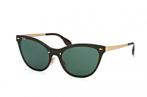 Очки Ray-Ban Blaze Cats RB3580N-043-71 Black / Arista | Green / Grey