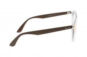 Очки Ray-Ban Blaze Youngster RB4380N-6358-W0 Brown | Green Gradient Mirror