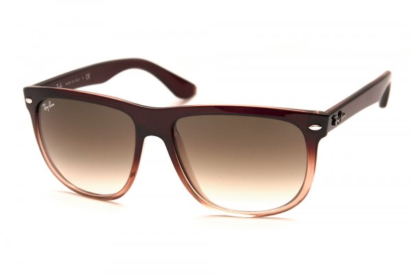 Очки Ray-Ban Boyfriend RB4147-827-51 Brown Faded Transparent/Faded Brown