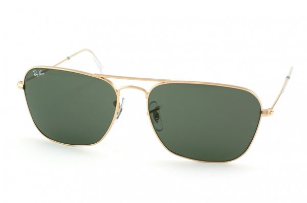 Очки Ray-Ban Caravan RB3136-001 Arista/Natural Green (G-15XLT)