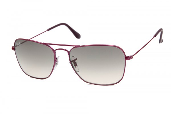 Очки Ray-Ban Caravan RB3136-090-32 Metal Fuchsia | Gradient Grey