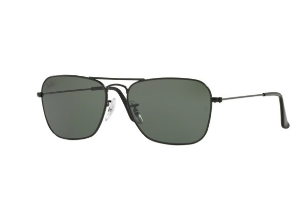 Очки Ray-Ban Caravan RB3136-W3338 Black | Natural Green (G-15XLT)