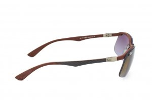 Очки Ray-Ban Carbon Fibre RB8314-128-T5 Brown/Carbon Dark | Poly. Brown Polarized