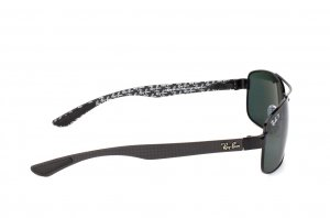 Очки Ray-Ban Carbon Fibre RB8316-002-N5 Carbon Black | Neophan Polar Green P3 Plus