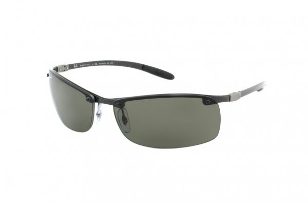 Очки Ray-Ban Carbon Lite RB8305-082-9A Carbon Dark/Poly. Polar Green Polarized