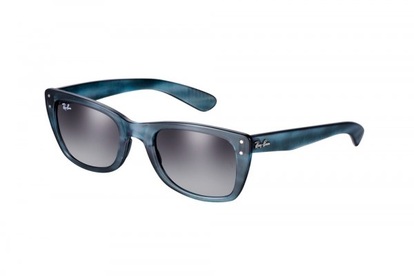 Очки Ray-Ban Caribbean RB4148-793-32 Matte Striped Blue | Gradient Grey