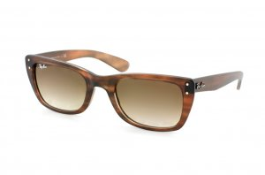 Очки Ray-Ban Caribbean RB4148-795-51 Matte Striped Brown | Faded Brown