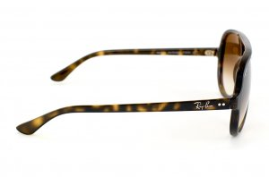 Очки Ray-Ban Cats 5000 RB4125-710-51 Shiny Avana | Gradient Faded Brown