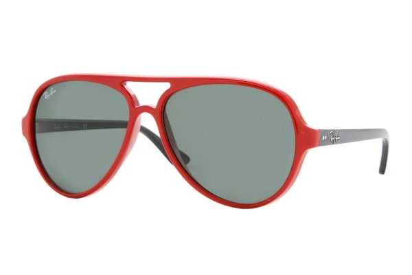 Очки Ray-Ban Cats 5000 RB4125-730 Red | Natural Green (G-15 XLT)