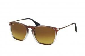 Очки Ray-Ban Chris RB4187-6224-13 Brown Gradient | Faded Brown