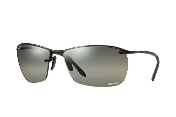 Очки Ray-Ban Chromance RB3544-002-5J Black | Silver Mirror Chromance Polarized