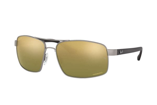 Очки Ray-Ban Chromance RB3604CH-029-6O Matt Silver  | Green Mirror Polarized