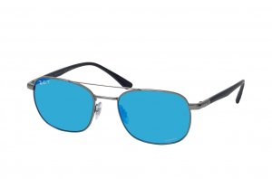 Очки Ray-Ban Chromance RB3670CH-004-4L Gunmetal | Blue Mirror Polarized