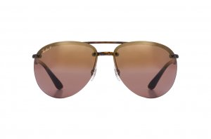Очки Ray-Ban Chromance RB4293CH-710-6B Havana | Brown Mirror / Gold Gradient Polarized