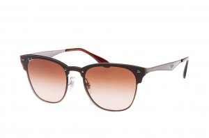 Очки Ray-Ban Clubmaster Blaze RB3576N-041-13 Brown | Faded Brown