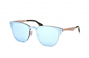 Очки Ray-Ban Clubmaster Blaze RB3576N-9039-1U Light Violet / Dark Arista | Light Violet Mirror