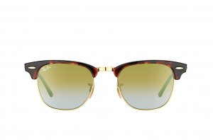 Очки Ray-Ban Clubmaster RB3016-990-9J Tortoise/Arista | Faded Green