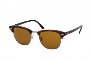 Очки Ray-Ban Clubmaster RB3016-W3388 Havana | Natural Brown