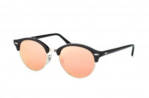 Очки Ray-Ban Clubround RB4246-1197-Z2 Black | Pink Flash Lenses