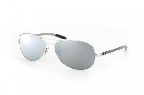 Очки Ray-Ban Cockpit Carbon Fibre RB8301-003-40 Silver/G-31 Mirror