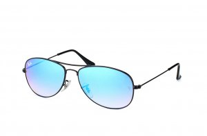 Очки Ray-Ban Cockpit Flash Lenses RB3362-002-4O Black | Blue Gradient Mirror