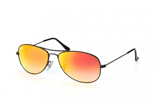 Очки Ray-Ban Cockpit Flash Lenses RB3362-002-4W Black | Orange Gradient Mirror