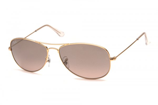 Очки Ray-Ban Cockpit RB3362-001-3E Arista/Pink Silver Gradient Mirror