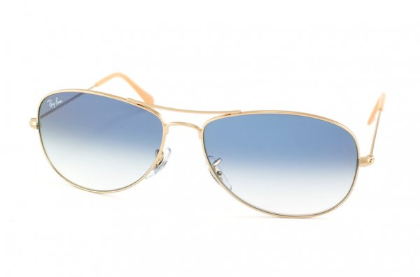 Очки Ray-Ban Cockpit RB3362-001-3F Arista/Gradient Light Blue