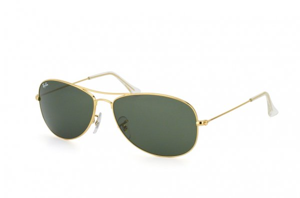Очки Ray-Ban Cockpit RB3362-001 Arista | Natural Green (G-15XLT)