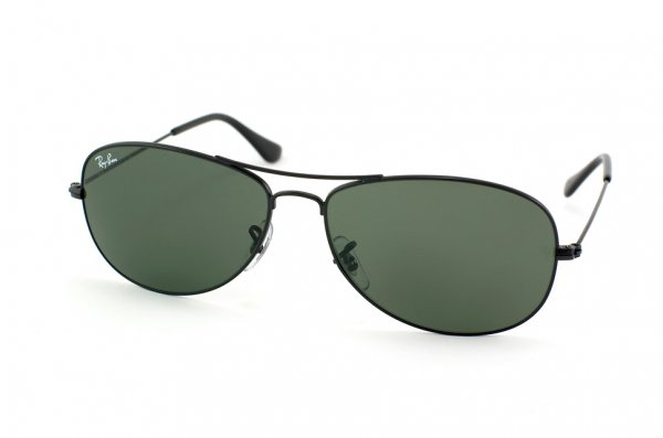 Очки Ray-Ban Cockpit RB3362-002 Black/Natural Green (G-15XLT)