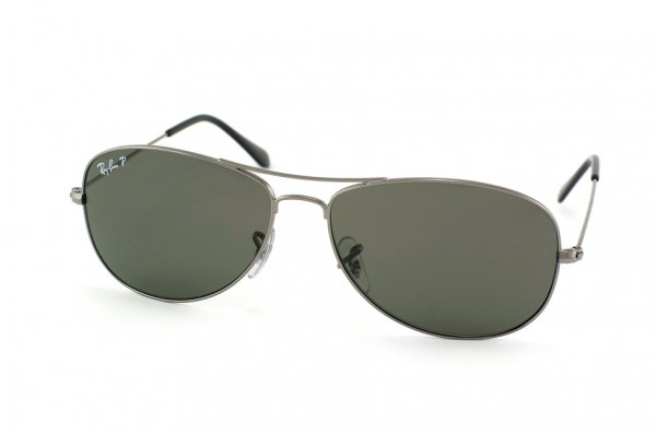 Очки Ray-Ban Cockpit RB3362-004-58 Gunmetal | Natural Green Polarized