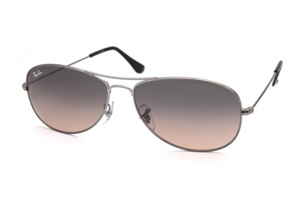 Очки Ray-Ban Cockpit RB3362-004-N1 Gunmetal/Grey Faded Pink
