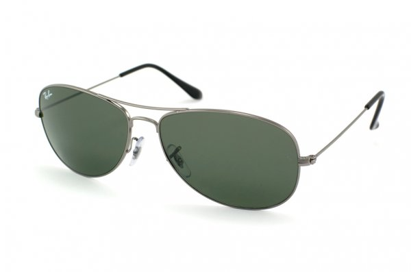 Очки Ray-Ban Cockpit RB3362-004 Gunmetal | Natural Green (G-15 XLT)