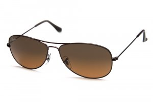 Очки Ray-Ban Cockpit RB3362-014-74 Brown/Brown Faded Yellow