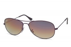 Очки Ray-Ban Cockpit RB3362-076-70 Violet/Violet Mirror Faded Brown