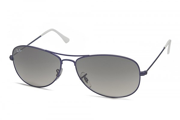 Очки Ray-Ban Cockpit RB3362-087-32 Metalic Mate Violet/Gradient Grey