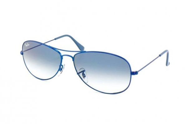 Очки Ray-Ban Cockpit RB3362-088-3F Metalic Matte Blue/Gradient Light Blue