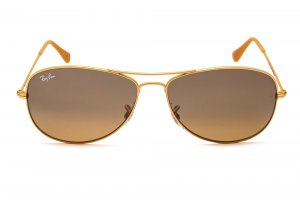 Очки Ray-Ban Cockpit RB3362-091-3K Yellow | Brown Mirror Silver Faded Gradient