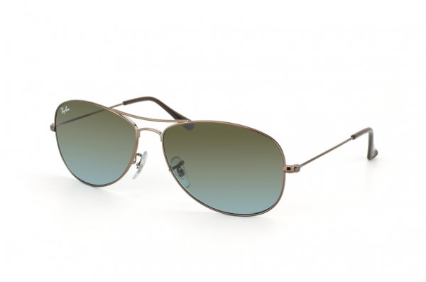 Очки Ray-Ban Cockpit RB3362-121-96 Shiny Brown | Blue Faded Brown