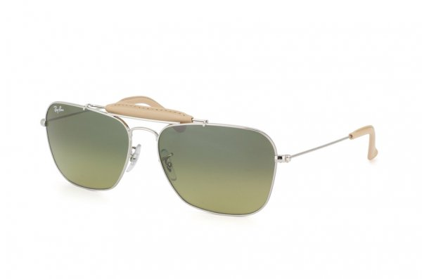 Очки Ray-Ban Craft Caravan RB3415Q-003-28 Silver | Blue Faded Yellow